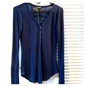 Long sleeve navy blue from Express
